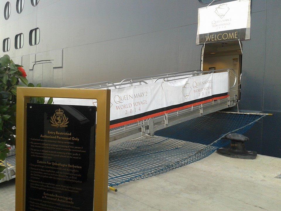 Queen Mary 2 , cruzeiro em Lisboa