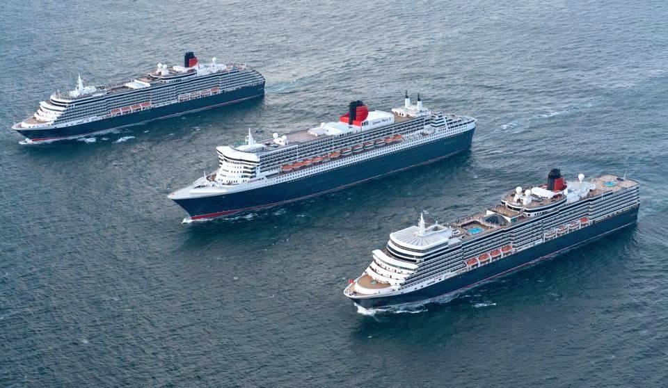 Cruzeiros em Lisboa a 10 milhas, Cunard